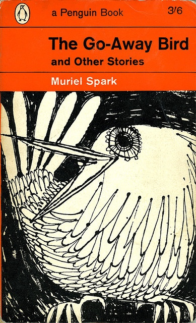 the go-away bird - muriel spark [link to series of classic penguin book covers]