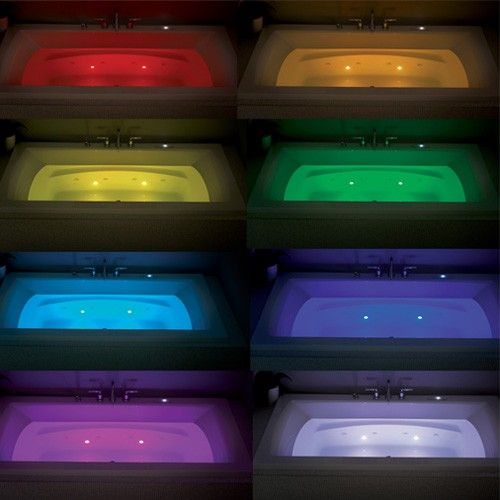 Neptune Macao Active Air Mass Air Whirlpool Combo Tub | YLiving Chromotherapy Guide
