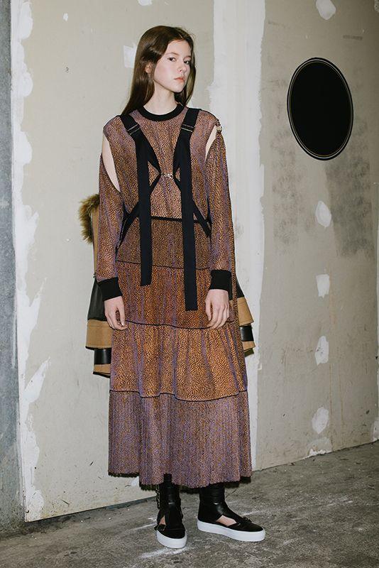 A contrasts Fashion game: GAUCHÈRE Paris FW17 collection - ZoeMagazine.net