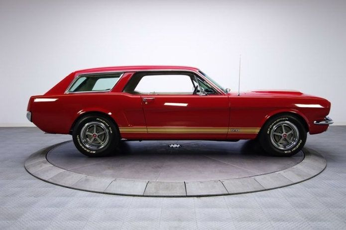 1965 Mustang Station Wagon...Brought to you by House of Insurance Eugene, Oregon Call for #Low #cost #Insurance. 541-345-4191