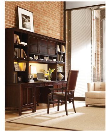 Modern Craftsman Morris School Arm Chair   Stanley Furniture   Wall Unit In  Photo Of Modern Craftsman  Morris Collection   Stanley Furniture
