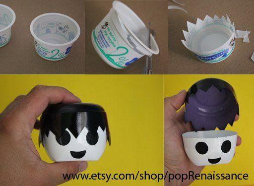 playmobill DIY: Playmobill box in packagings diy accessories  with Plastic Packaging Head DIY Box