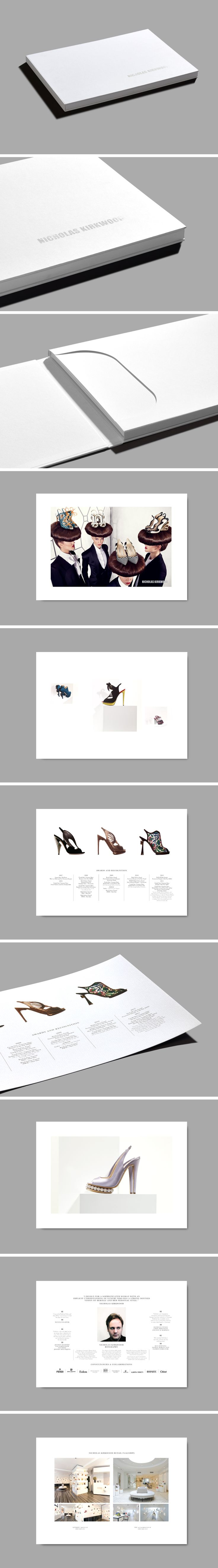 Format – Bespoke Book Custom Inserts  Client – Nicholas Kirkwood