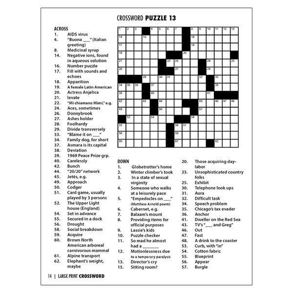 Best Representation Descriptions Kitchen Safety Crossword Puzzle