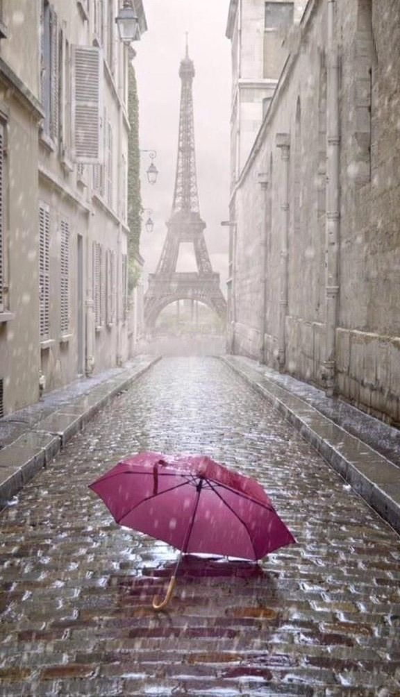 rainy day in Paris - Ana Rosa