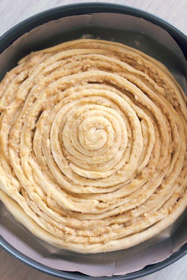 Spirale Briochée à la Noisette 3#