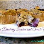 paleo blueberry zucchini and carrot muffins feature image