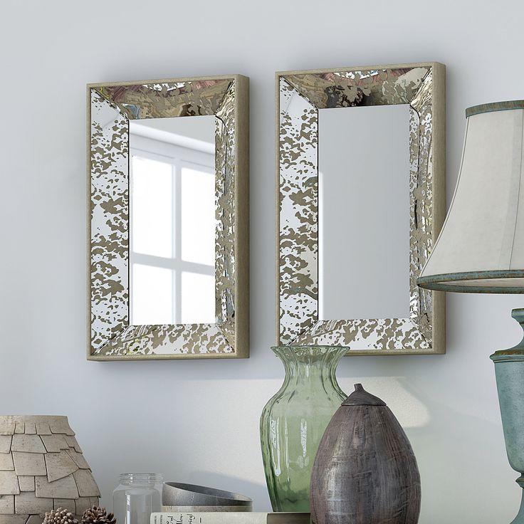 Olivia Rectangle Large Wall Mirror
