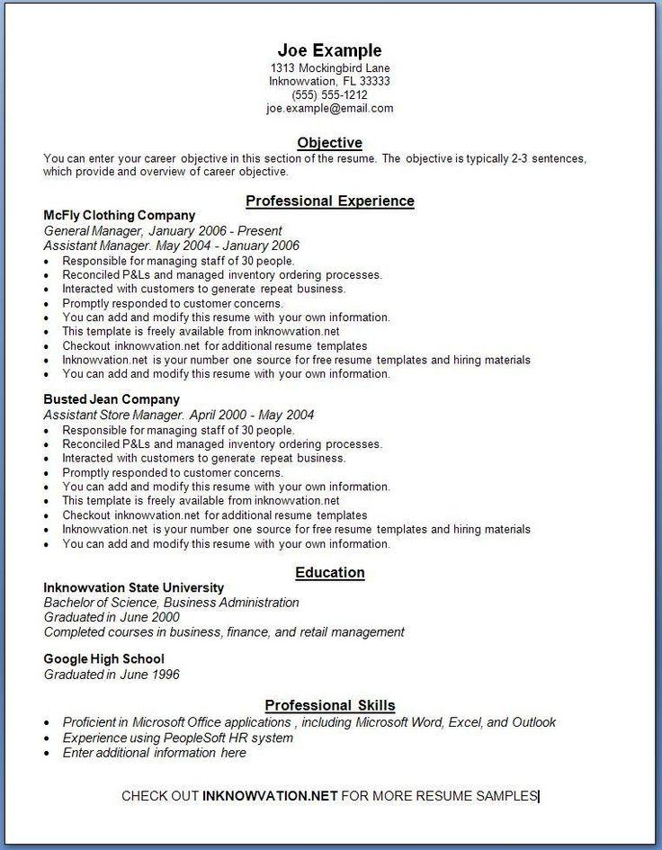 The 25+ Best Resume Builder Ideas On Pinterest | Resume Builder Template,  Resume Tips And Resume Examples  Microsoft Resume Builder