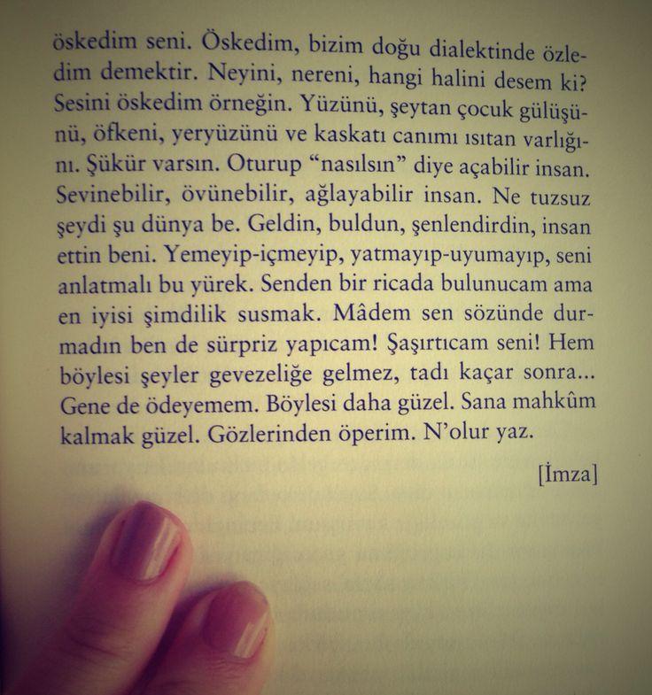 """""""sana mahkum kalmak güzel"""" leylim leylim/ ahmet arif"""