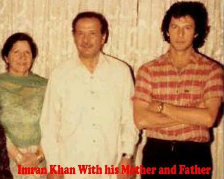 Imran Khan with his Mother and Father | Imran Khan a ...