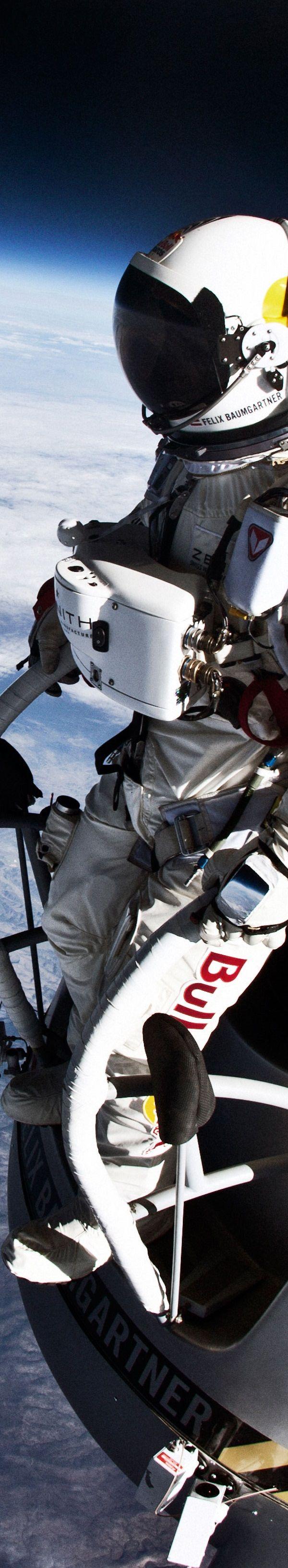 Felix Baumgartner World Record Space Jump