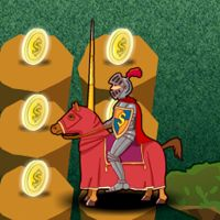 Knight #Game - #Chess #Treasure #Coins