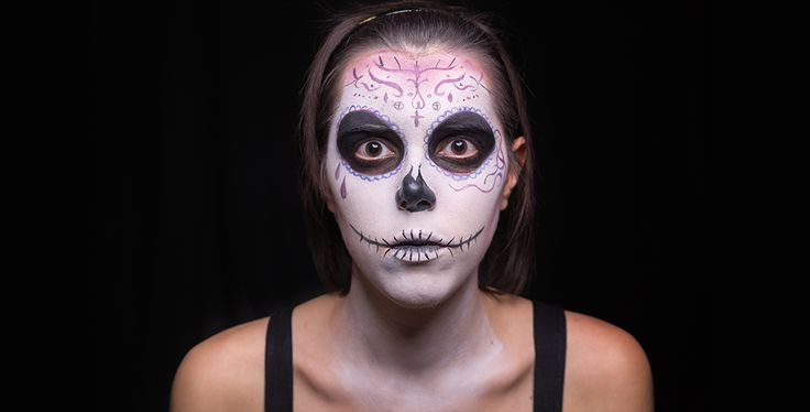 Come truccarsi ad Halloween 2015 - SugarSkull - Step 4