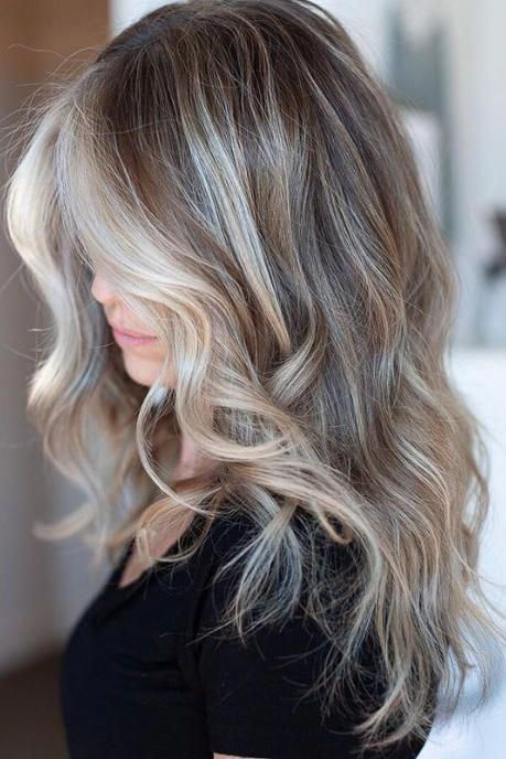 Mushroom Blonde Hair Is Everything You Need This Winter—Here Are 15 Gorgeous Examples to Show Your Stylist #balayagehairblonde