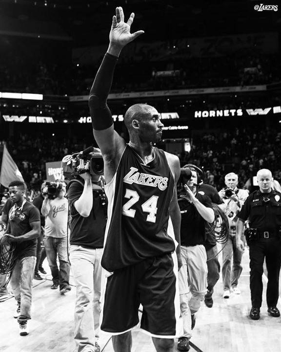 Kobe Bryant's last game in Charlotte