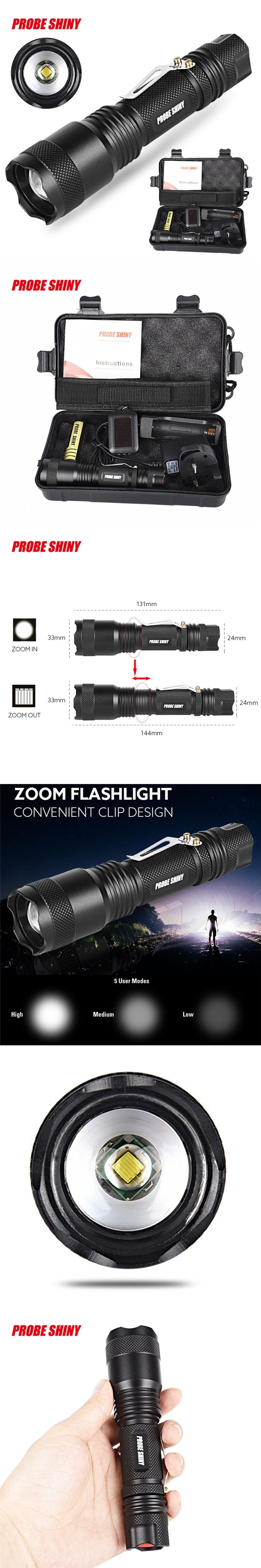 1Set Cycling Bike Front Headlight Bicycle Light X800 Shadowhawk 5000LM Zoomable XML LED Tactical Flashlight +18650 Battery F22