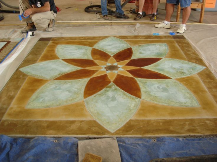 Remarkable Home Flooring With Best Concrete Stain Home Depot Idea:  Beautiful Acid Wash Concrete Stain