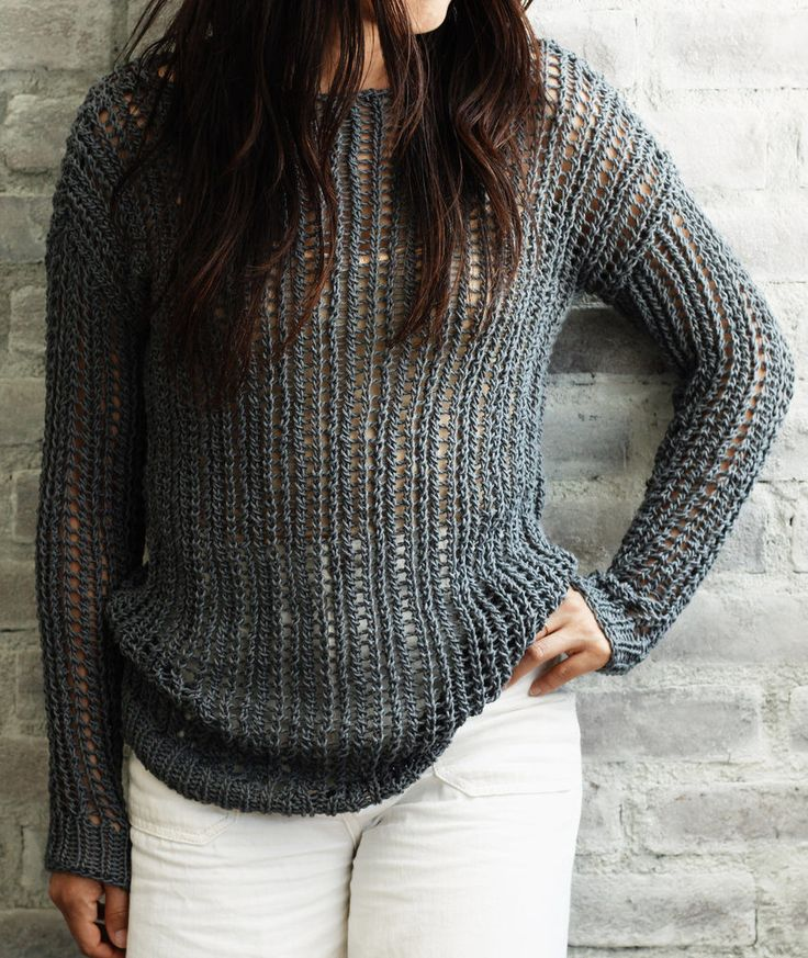 323 best Sweater Knitting Patterns images on Pinterest