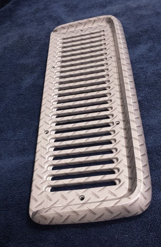 Diamond Plate, Jeep, CJ, Hydrographics, Water Transfer Printing, Hydrodipping, Car Parts, Custom Car