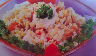 Sanatate cu pofta de viata: Retete sanatoase - Salata din cartofi si rosii