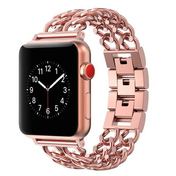 Luca Lucino Armband La Diva Fur Apple Watch 42 Mm Rosegold