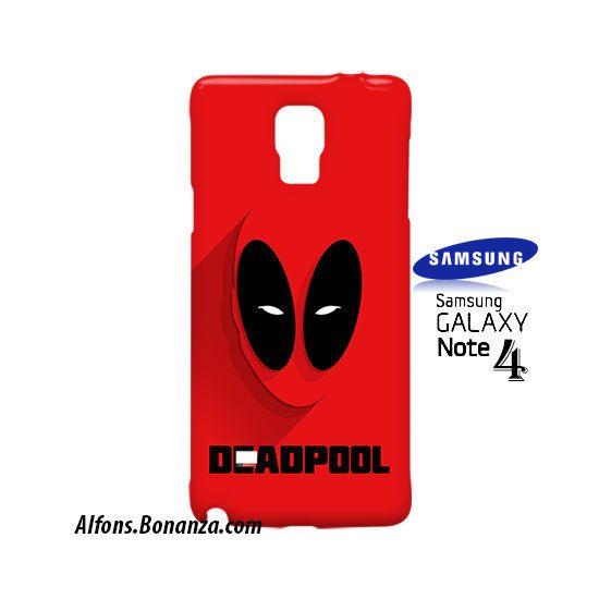 Deadpool Superhero Samsung Galaxy Note 4 Case