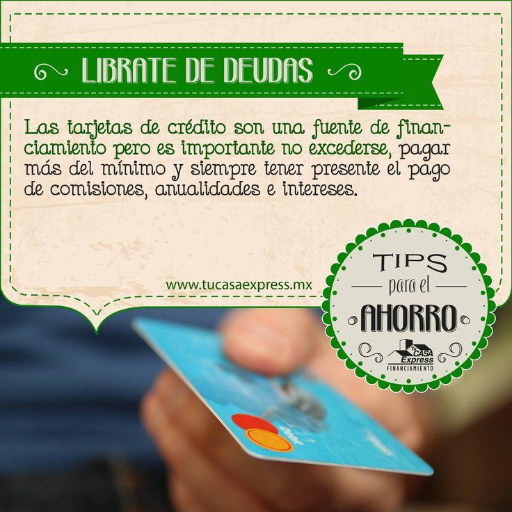 Evita las deudas, #TipsExpress para usar tu tarjeta de crédito.
