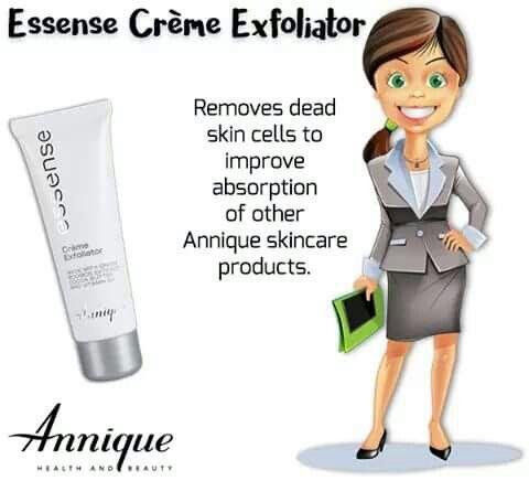 #skincare #annique #essenserange #sensitiveskin #exfoliator