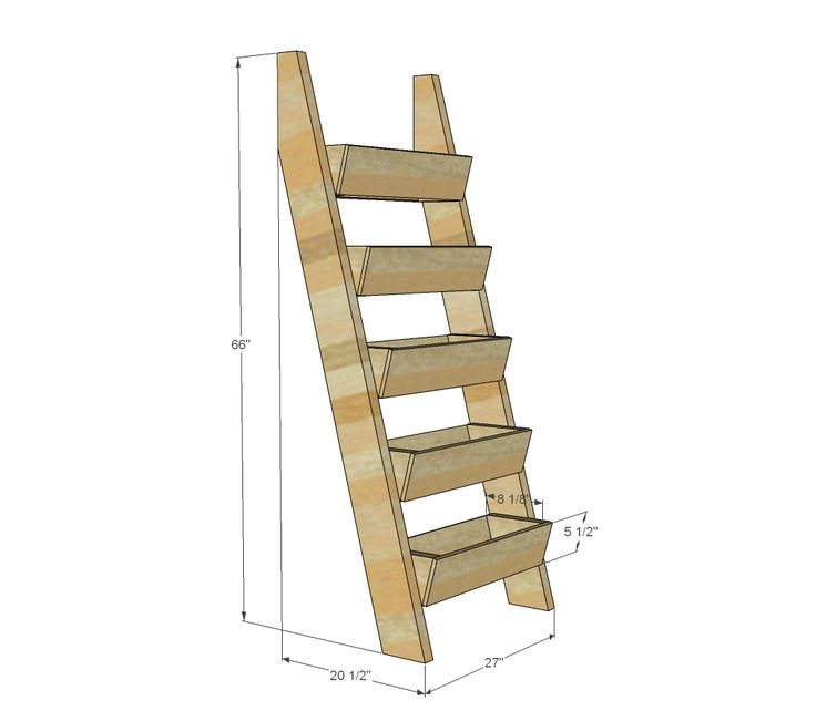 17 best ideas about garden ladder on pinterest vertical planter diy planters and vertical - Ladder plant stand plans free ...