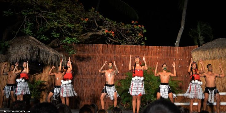 myths-of-maui-hula I Set upon the beautiful Kaanapali shoreline, Myths of Maui takes you on a voyage throughout Polynesia. Guests are welcomed with a shell lei and warm aloha as they begin their evening in paradise. Enjoy an all-you-can-eat buffet showcasing Hawaii's finest cuisines and be treated to complimentary cocktails all night long. The beautiful hula and exciting fire-knife dance will leave you breathless. With an unbeatable Maui sunset as your backdrop, you are sure to have a…