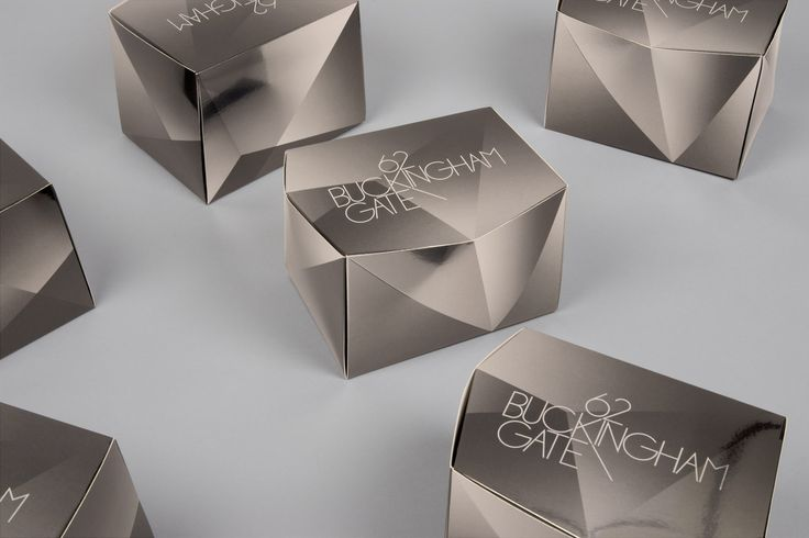 Packaging projects. Buckingham Gate - dn&co.