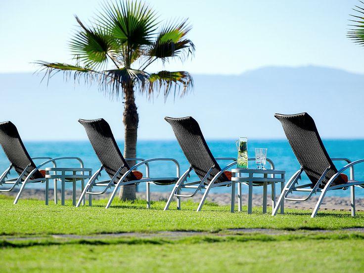 Take time to enjoy the hotel's beach!