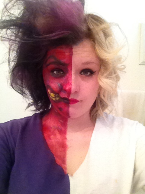 12 best Two Faced images on Pinterest | Costumes, Two faces and ...