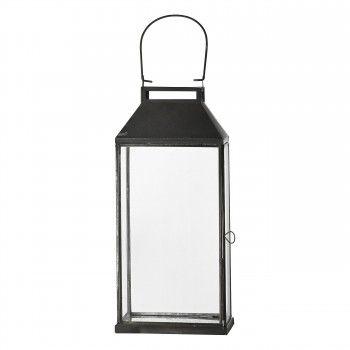 Czarny lampion Adriliana Lene Bjerre -  37 cm