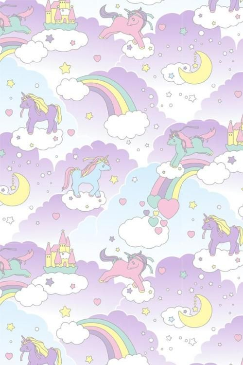 ☆ ☆ Pastel unicorns & Rainbows ☆ ☆ Discover more about Lady Marshmallow: www.ladymarshmallow.com