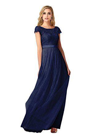 Dunkelblaues kleid damen