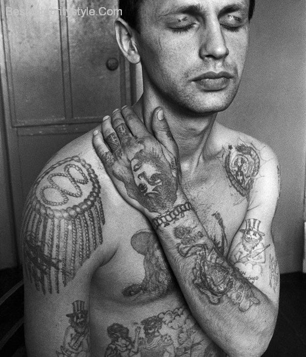 8 best images about russian prison tattoos on pinterest for Russian style tattoo