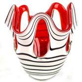 Found it at Wayfair Australia - Jozefina Krosno Zebra Glass Candle Holder