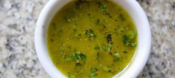 vinagreta-de-lima-y-cilantro