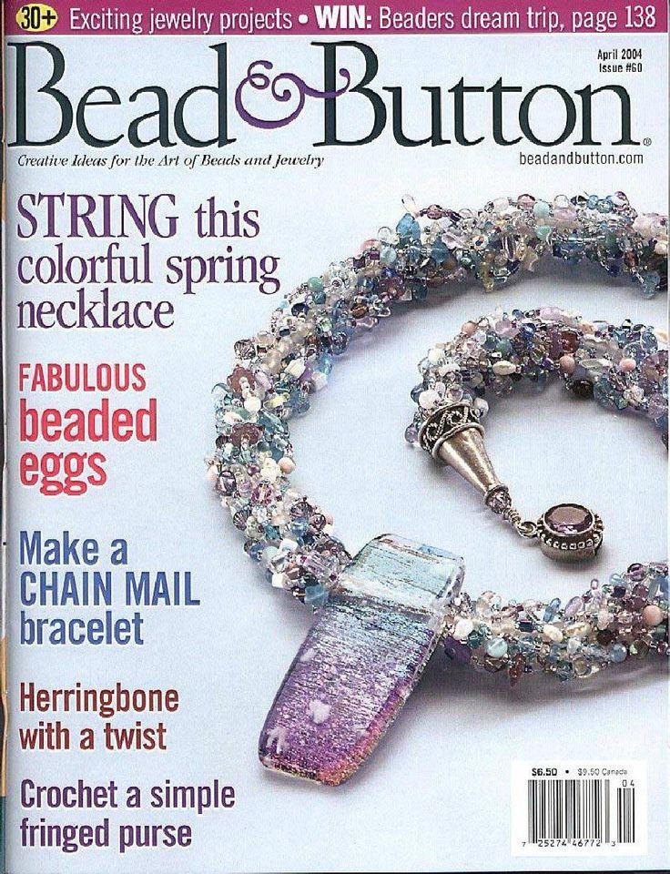 1591 best bead magazines images on pinterest bead jewellery beadbutton 060 april 2004 fandeluxe Images