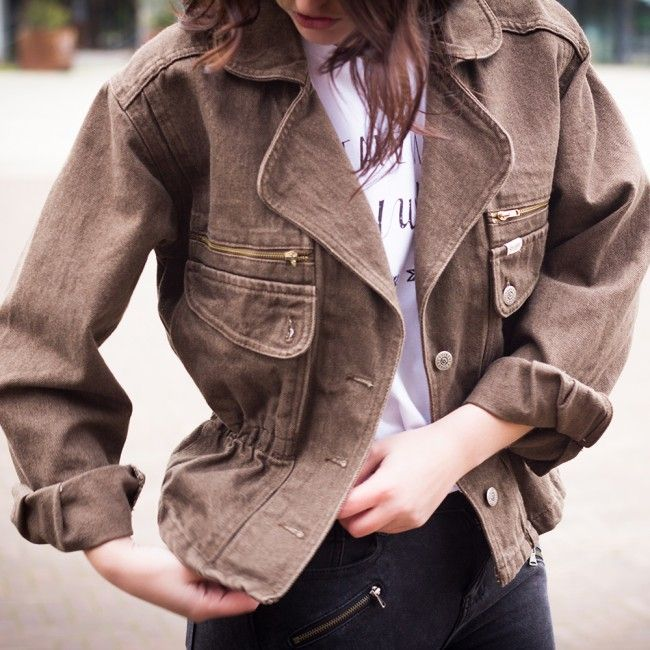 A real musthave, you need this! Shop Modern Safari Jacket @ www.myfavouritemusthaves.com