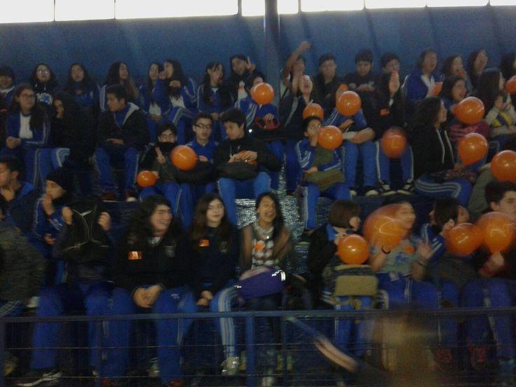 Hoy nuestros alumnos del #DarioSalasChillanViejo  visitan al #DarioSalasPolivalentedeChillan en una gran actividad de Unión Darisalina