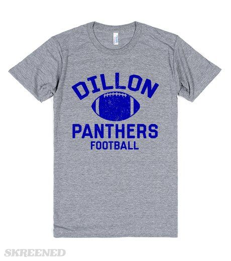 Dillon Panthers 33 now you can be Tim Riggins, with this classic print. Pay homage to Friday Night Lights with this design inspired by the Dillon Panthers. Printed on Skreened T-Shirt