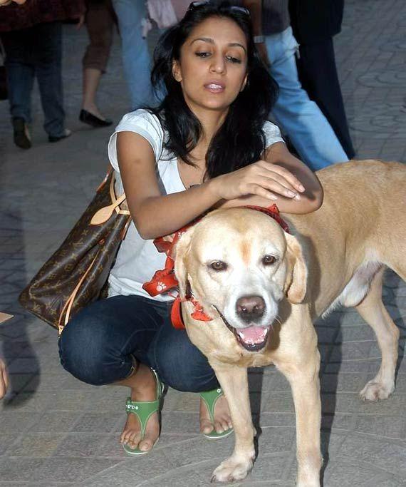 Actress Shweta Salve tells her pet dog's story (see pics)