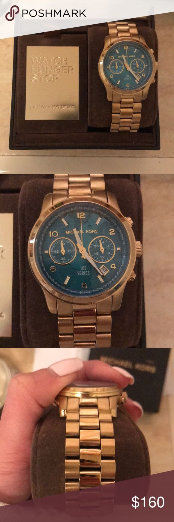 The 25 best michael kors blue watch ideas on pinterest new michael kors watch hunger stop watch gumiabroncs Images