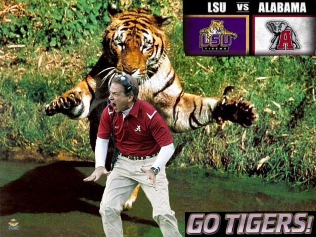 LSU vs. Alabama Funny Facebook Pictures — Your Top 7 [PHOTOS]