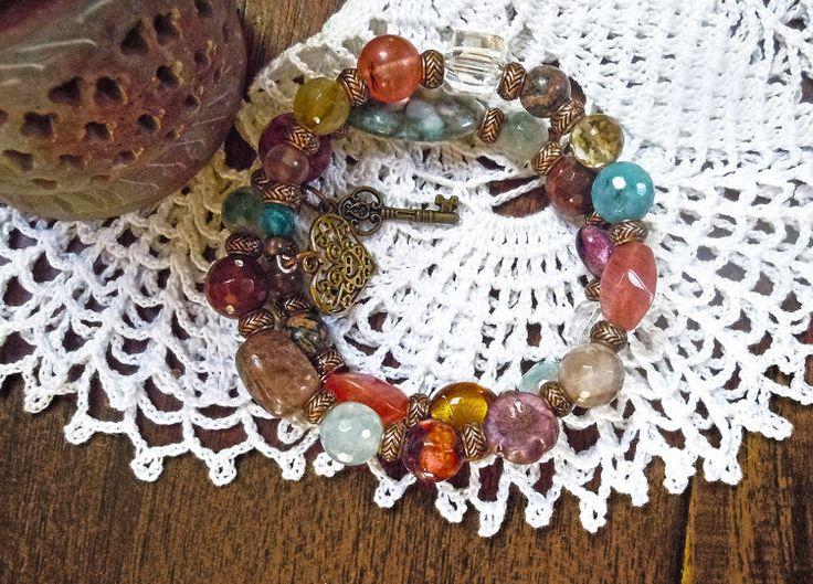 Bracciale Bohemian bracciale colorato gioielli di ilfiorecreativo