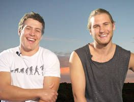 Brax and Ash search for Billie. Steve and George give us an amusing take on filming these scenes.