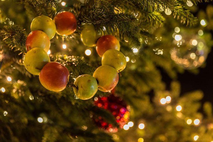 Couronne de Noël à l'ancienne sur le marché d'Obernai - décembre 2015 - Styl'List Images